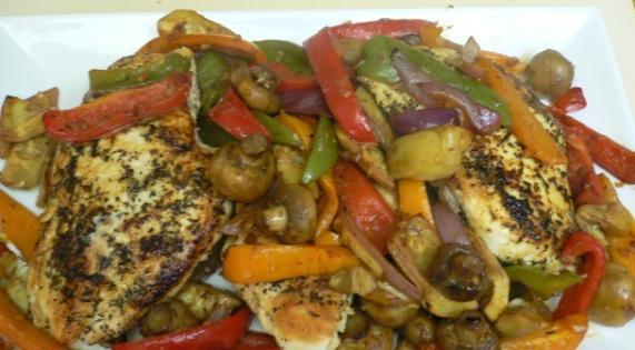 how to prepare chicken pepper steak